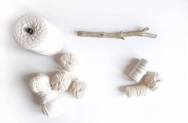 macrame supplies