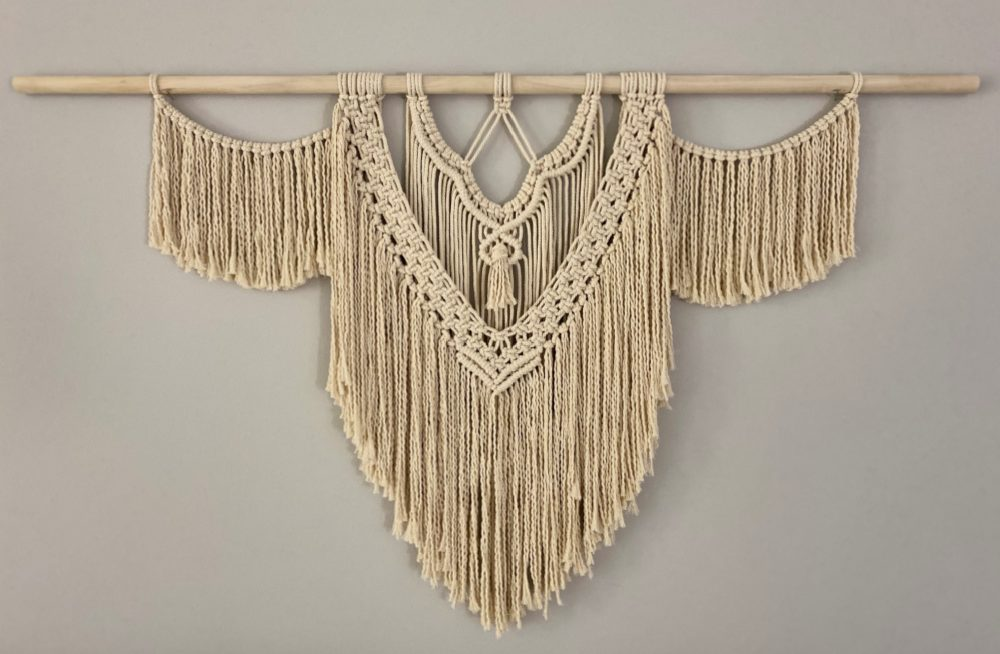 Large DIY Macrame Wall Hanging